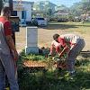 Usai Apel Pagi, Personil Polsel Laksanakan Kurve Bersama Aparat Kelurahan
