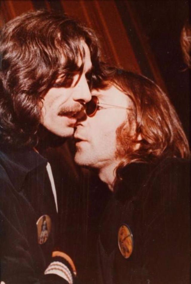 john lennon and george harrison relationship