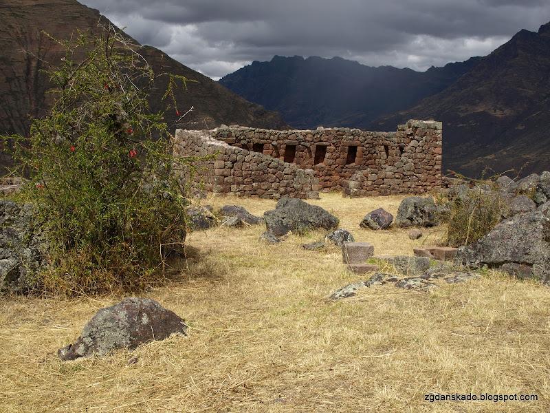 Ruiny w Pisac