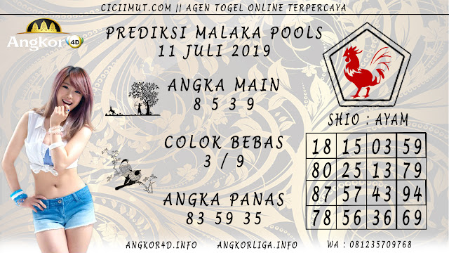 PREDIKSI MALAKA POOLS 11 JULI 2019