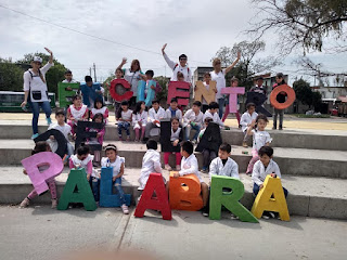 """Estudiantes de escuelas y jardines participaron del """"Encuentro de la Palabra"""" de Monte Chingolo"""