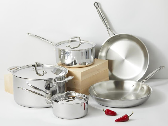 افضل أواني الطبخ المصنوعة من الألمنيوم.
