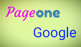 Pageone google