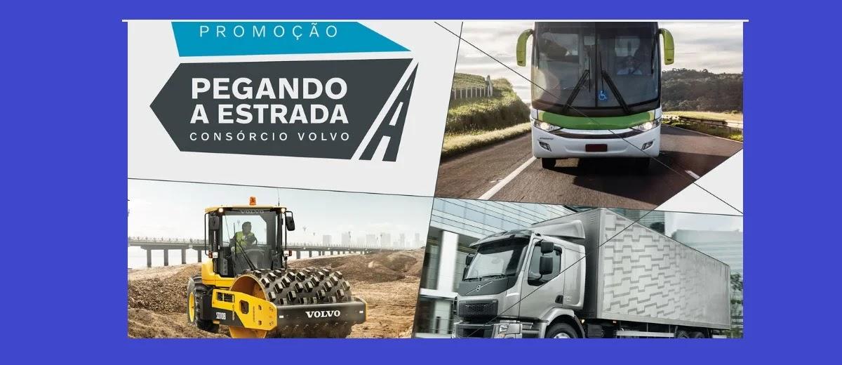 Promoção Consórcio Volvo 2020 Pegando Estrada