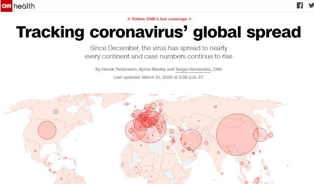 Tracking of Corona virus
