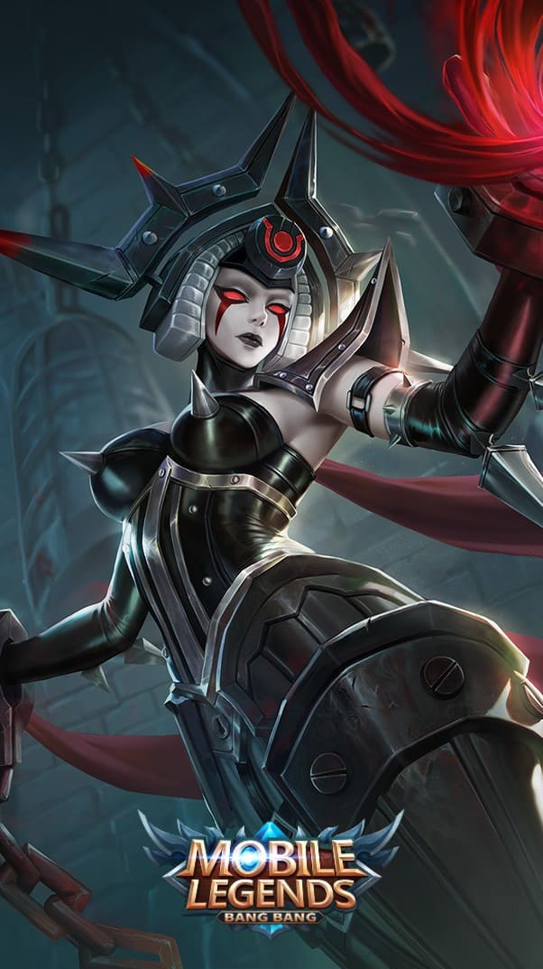 Wallpaper Vexana Imprisoner Skin Mobile Legends HD for Android and iOS