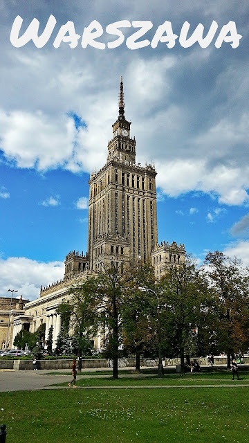 Pałac Kultury i Nauki w Warszawie widok