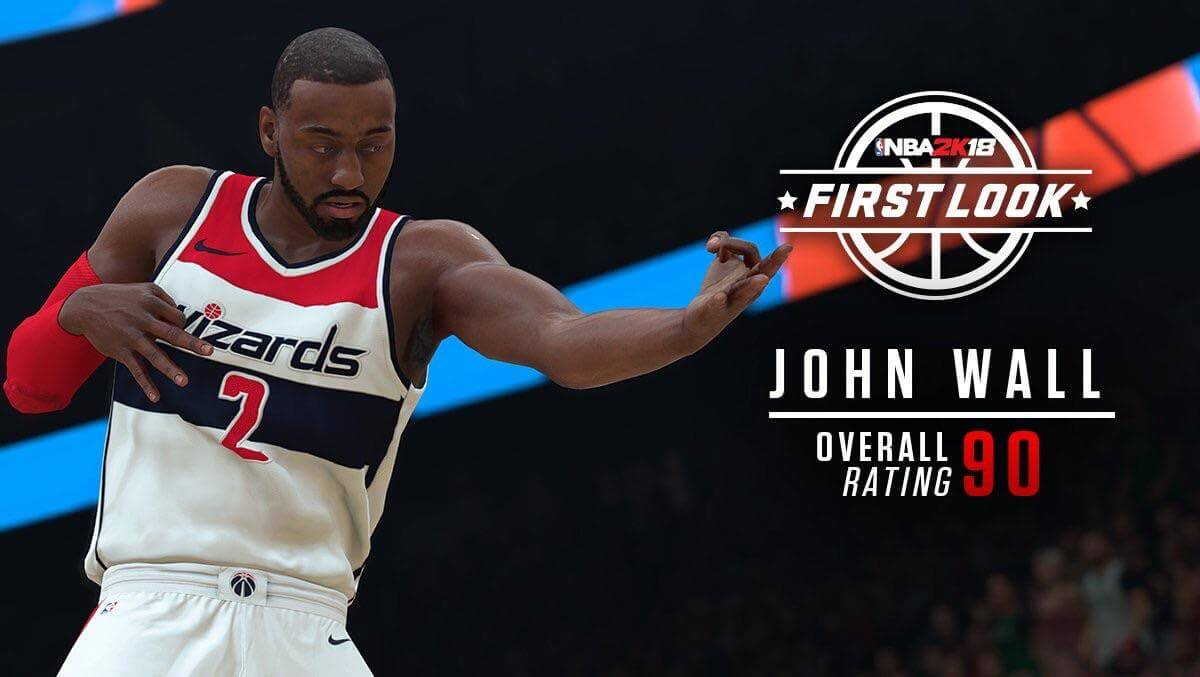 NBA 2K18 Screenshot - John Wall