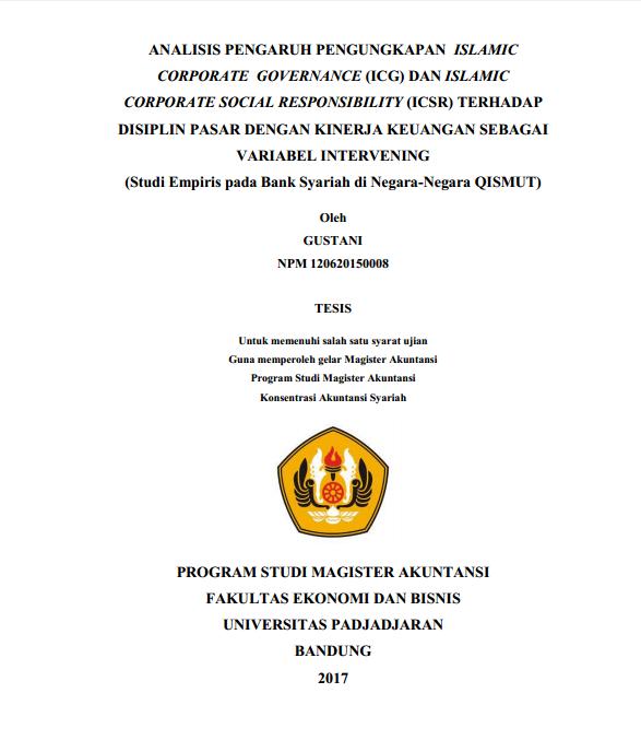 Contoh Soal Dan Materi Pelajaran 2 Contoh Tesis Akuntansi Syariah