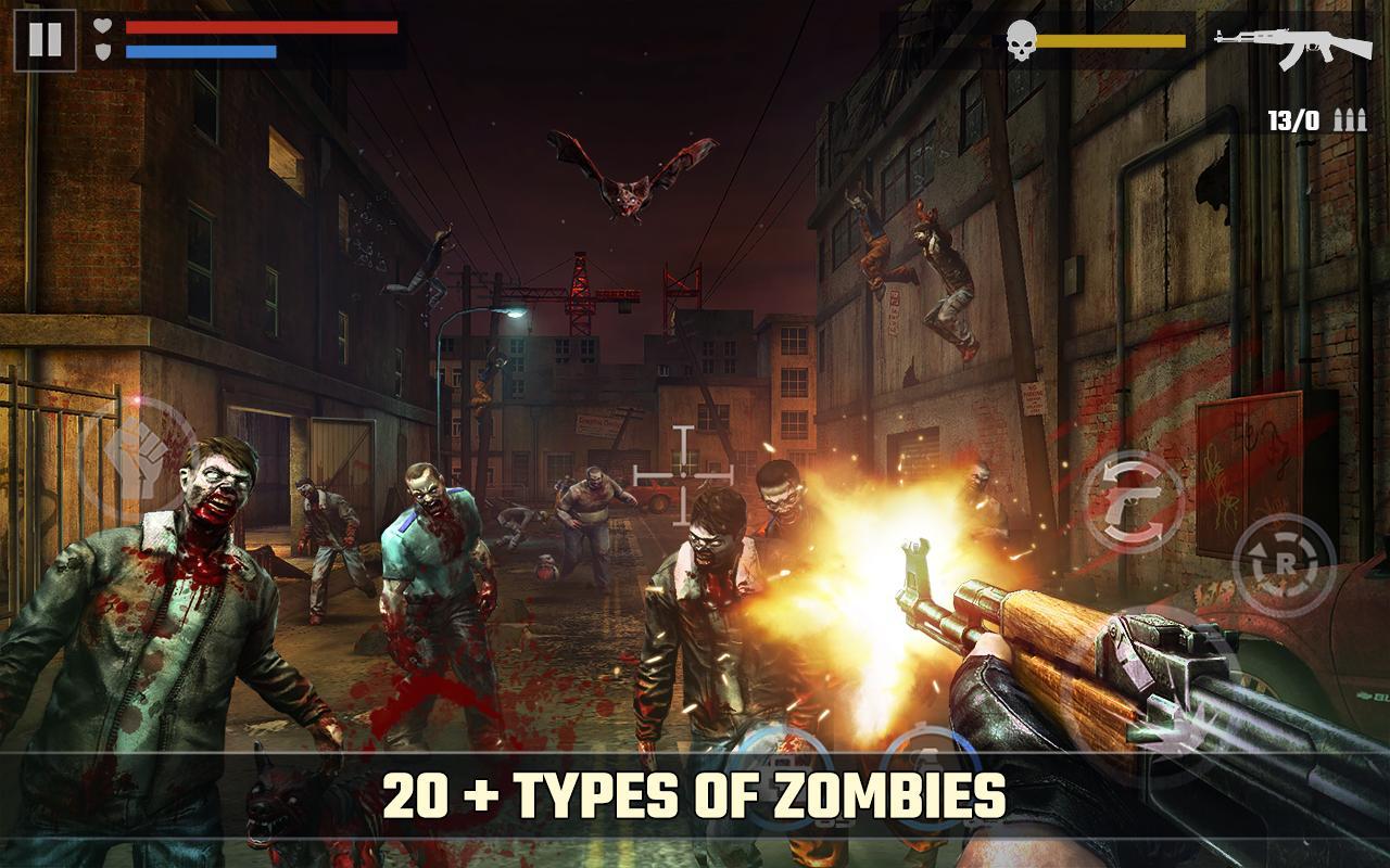 Dead Target FPS Zombie Apocalypse Survival Game MOD APK