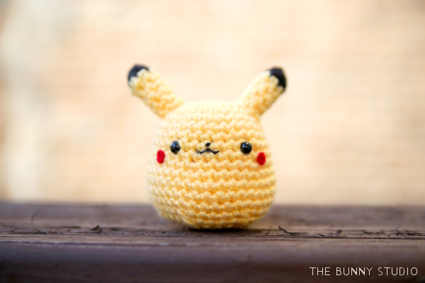 Amigurumi Pokemon Patterns Free : The bunny studio free crochet pattern pikachu amigurumi