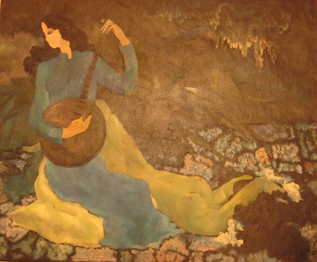 Tác phẩm hội họa về đề tài Tây nguyên 18