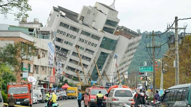 Taiwan Kembali Diguncang Gempa 5,9 Skala Richter