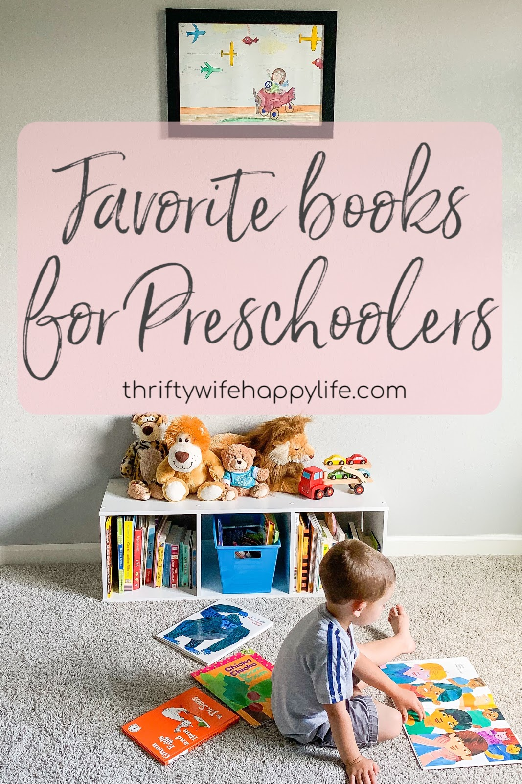 10 favorite books for preschoolers
