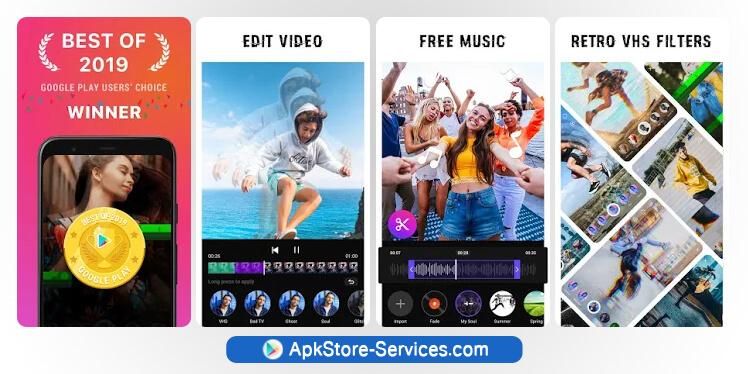 تطبيق Glitch Video Effects أفضل تطبيق أندرويد 2019