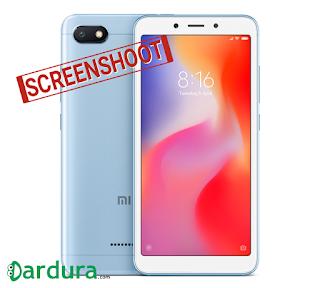 Cara Mudah Screenshot HP Xiaomi redmi 6a, Tanpa ribet!
