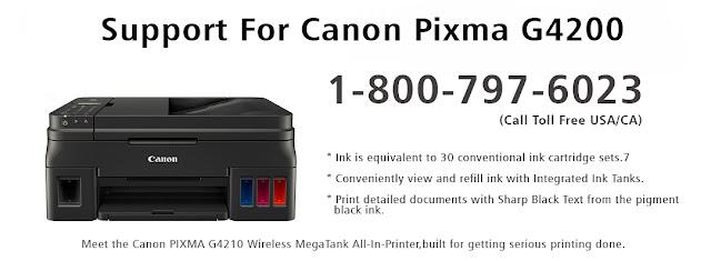 Canon Pixma G4200 Wireless MegaTank Features, Drawbacks & canon printer support