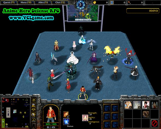 Anime Hero Defense RPG V225