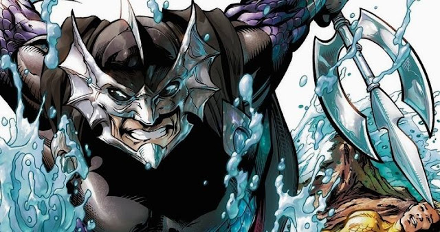 Orm Marius enemigo de Aquaman