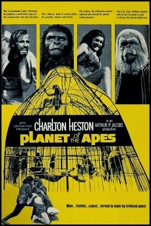 Póster de El planeta de los simios (1968)