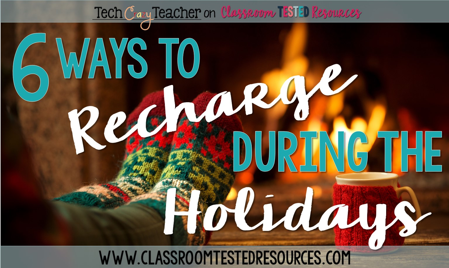Here are 6 ways to recharge, relax, and decompress over the holidays!
