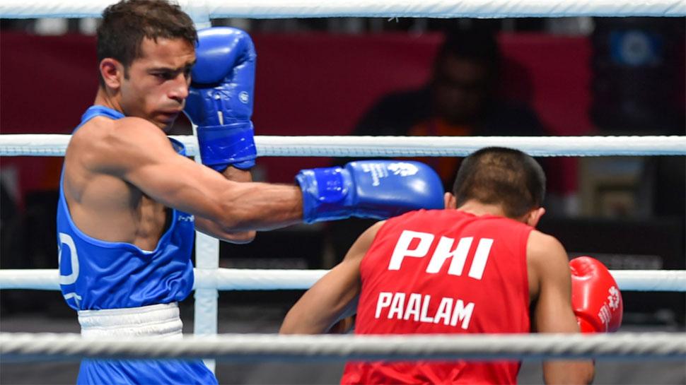 विश्व मुक्केबाजी चैम्पियनशिप : पंघल सहित 4 भारतीयों की नजर क्वार्टर फाइनल पर