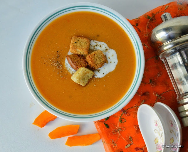 Moong Dal - Pumpkin Soup