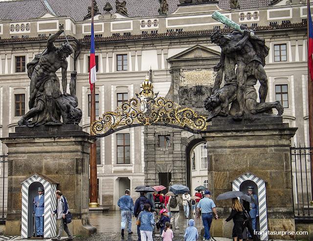 Entrada do Castelo de Praga