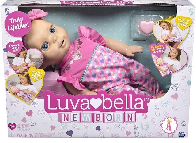 Новорожденные пупсы Luvabella Newborn: новинка 2019 года
