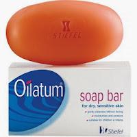 สบู่ Oilatum Bar Soap สบู่ก้อนล้างหน้าสำหรับคนเป็นสิวและผิวแพ้ง่าย