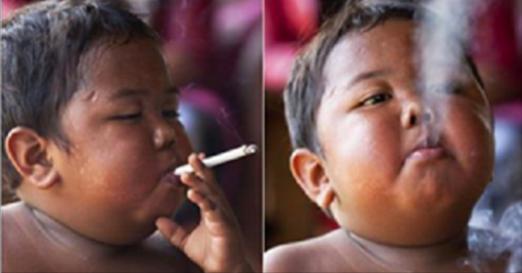 Vous souvenez-vous de ce garçon qui fumait 40 cigarettes par jour ? Regardez ce qu'il est devenu 8 ans plus tard