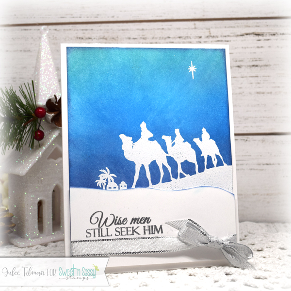 Wise Men still seek him card by Julee Tilman using Sweet 'n Sassy Stamps