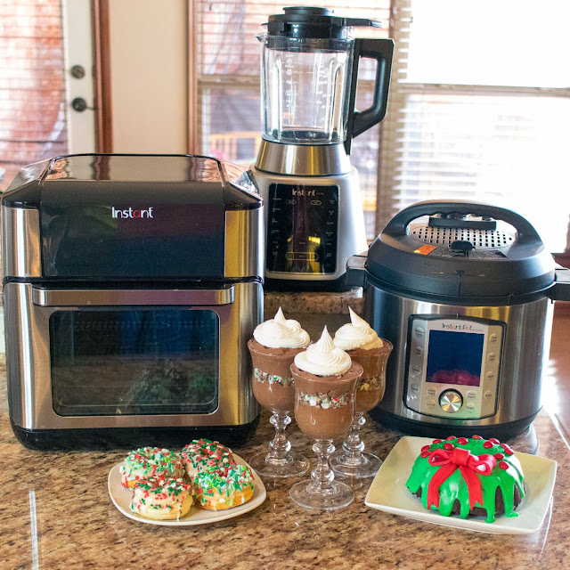 3 Christmas Desserts to Make In Your Instant Pot, Instant Ace Plus Blender, and Instant Vortex Plus Air Fryer Oven