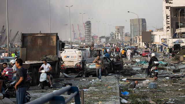 Έκκληση αλληλεγγύης του ΠΑΜΕ στο λαό του Λιβάνου – Συγκέντρωση ειδών πρώτης ανάγκης