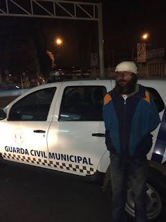 Guarda Civil de Suzano captura elemento foragido da justiça