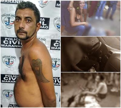 Preso mandante da chacina que deixou quatro ciganos mortos em Coelho Neto; ele responde por vários crimes