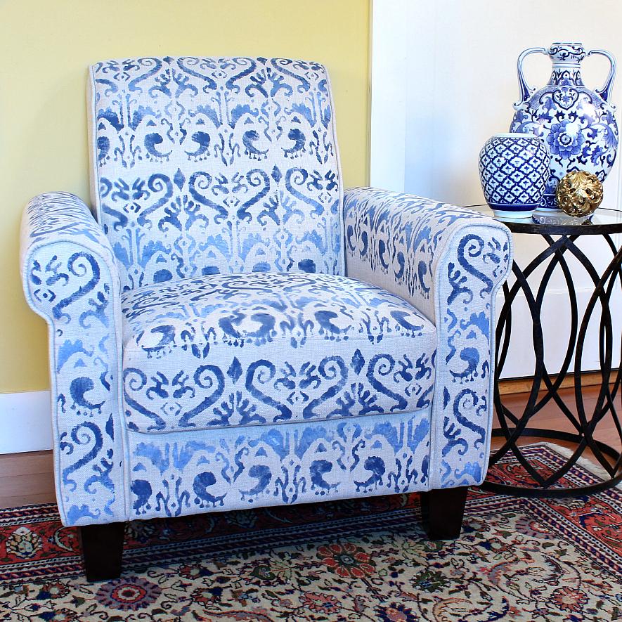 Epic Stenciled Chair DIY