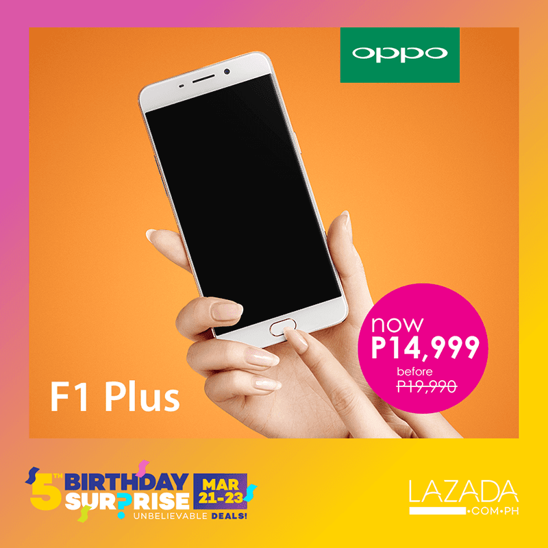 oppo-f1-plus-lazada List Of OPPO Smartphones To Be On Sale At Lazada! Technology