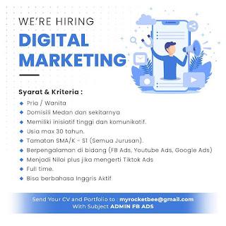 Digital marketing di MyrocketBee