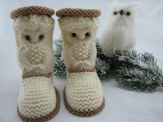 wzory butow dziecinnych szydelkiem i na drutach