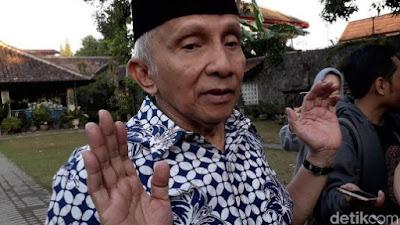 Kabar Berita Terbaru Hari Ini Prabowo Ketemu Jokowi, Amien Rais: Kok Tiba-tiba Nyelonong?