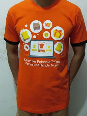 Kaos Gathering Pos Banda Aceh