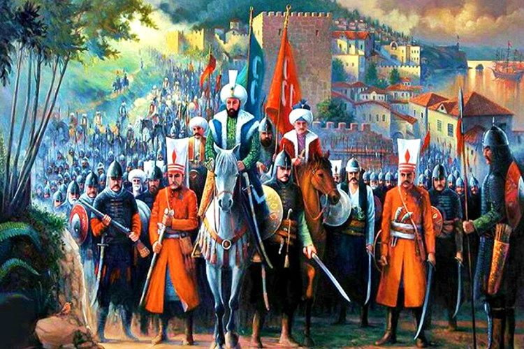 Fatih Sultan Mehmet askerlerinin korkuya kapıldığı anlarda ön saflara çıkar ve omuz omuza savaşırdı.