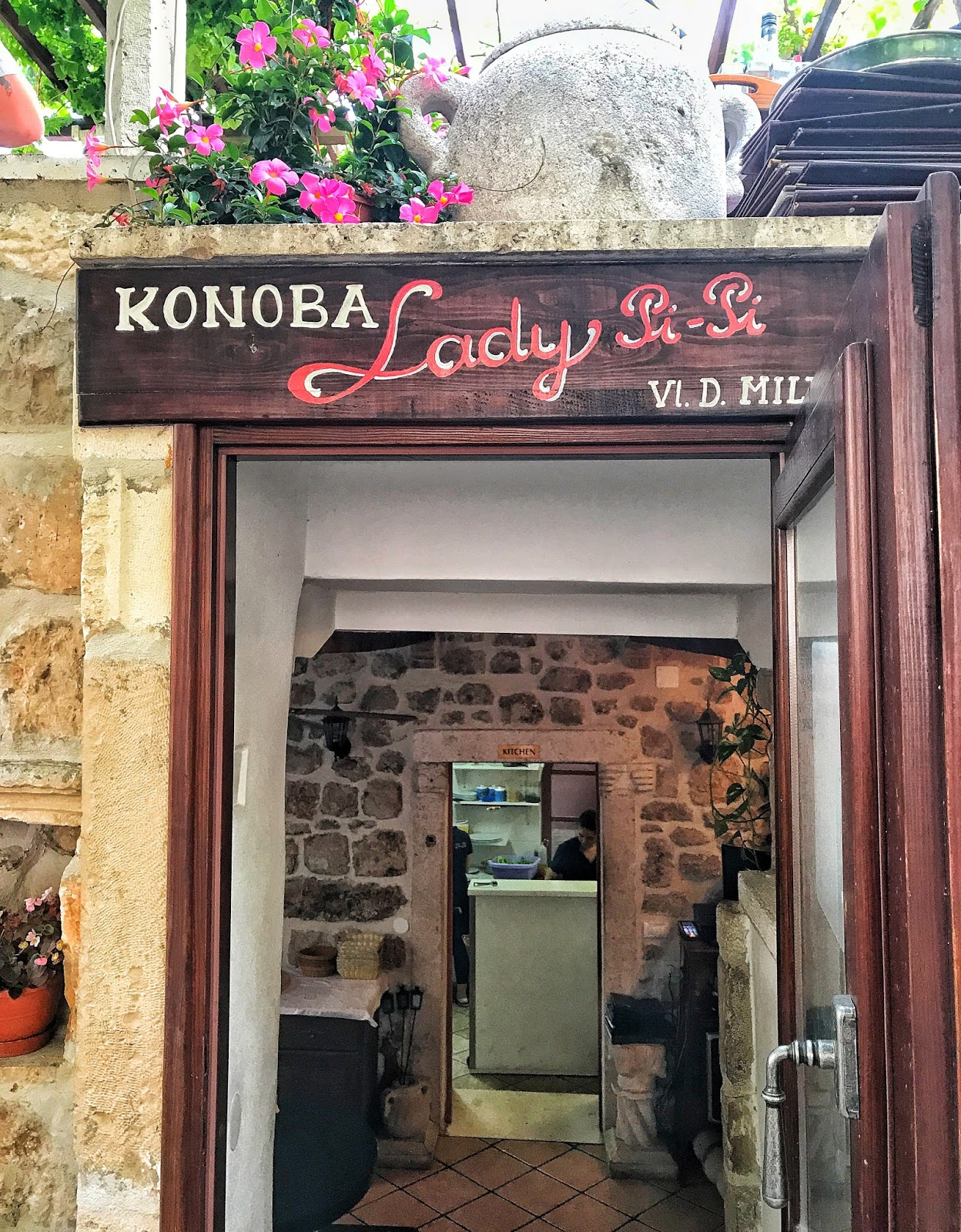 Lady Pi-Pi - a Rick Stein Dubrovnik Restaurant Recommendation