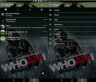 BBM MOD Anonymous Who Am I V3.0.0.18 MOD Apk Terbaru