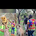 Billionaire big boy Mompha scared to touch a lion