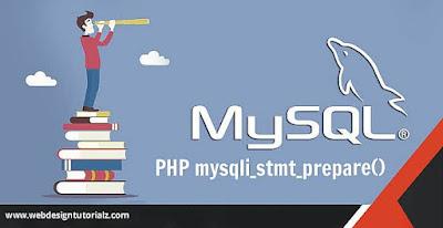 PHP mysqli_stmt_prepare() Function