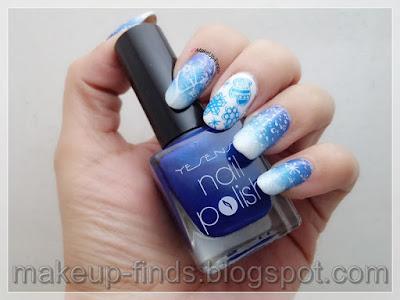 Stamping: Manicura Nevada (Dream Girl 11)