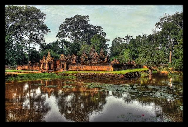 Siem Reap - Cambodge - Temple de Banteay Srei (CC)