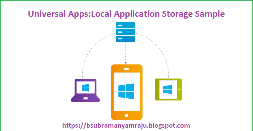 Universal apps :How to store list of objects into Local